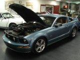 2007 Windveil Blue Metallic Ford Mustang GT Premium Coupe #25062987