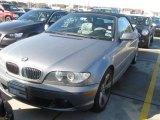 2004 Silver Grey Metallic BMW 3 Series 325i Convertible #25063019