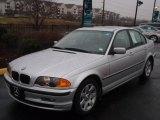 2001 Titanium Silver Metallic BMW 3 Series 325i Sedan #25063061