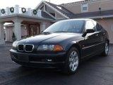 2001 Jet Black BMW 3 Series 325i Sedan #25062676