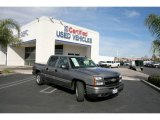 2006 Graystone Metallic Chevrolet Silverado 1500 LT Crew Cab #25146255