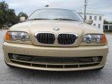 2001 Light Yellow Metallic BMW 3 Series 330i Coupe #25146267
