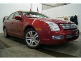 2008 Redfire Metallic Ford Fusion SEL V6 #25146272