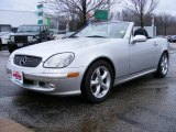 2001 Brilliant Silver Metallic Mercedes-Benz SLK 320 Roadster #25145932