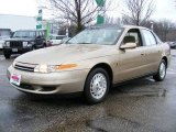 2001 Medium Gold Saturn L Series L200 Sedan #25145934