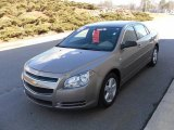 2008 Sandstone Metallic Chevrolet Malibu LS Sedan #25146311
