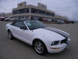 2005 Performance White Ford Mustang V6 Premium Convertible #25146336