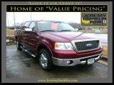 2006 Dark Toreador Red Metallic Ford F150 Lariat SuperCrew #25145989
