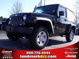 2010 Black Jeep Wrangler Sport 4x4 #25146039