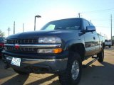 2000 Charcoal Gray Metallic Chevrolet Silverado 1500 Z71 Extended Cab 4x4 #2517958