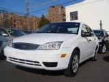 2005 Cloud 9 White Ford Focus ZX4 S Sedan #25063301