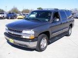 2001 Medium Charcoal Gray Metallic Chevrolet Suburban 1500 LS #2516973