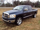 2007 Patriot Blue Pearl Dodge Ram 1500 Thunder Road Quad Cab 4x4 #25063320