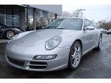 2007 Arctic Silver Metallic Porsche 911 Carrera S Coupe #24900738
