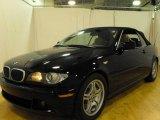 2005 Jet Black BMW 3 Series 330i Convertible #25063361