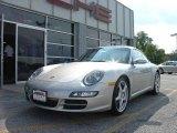 2007 Arctic Silver Metallic Porsche 911 Carrera Coupe #25166