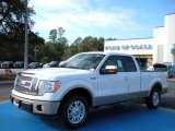 2010 Oxford White Ford F150 Lariat SuperCab #25092128