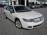 2008 White Suede Lincoln MKZ Sedan #25196153