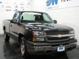 2005 Black Chevrolet Silverado 1500 Regular Cab #25146230