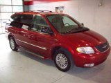 2003 Inferno Red Pearl Chrysler Town & Country Limited #25195856