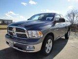 2010 Mineral Gray Metallic Dodge Ram 1500 Big Horn Quad Cab 4x4 #25196279