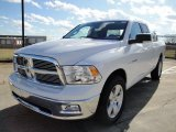 2010 Stone White Dodge Ram 1500 Big Horn Quad Cab #25196282