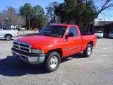 2001 Flame Red Dodge Ram 1500 SLT Regular Cab #25196310