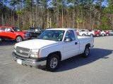 2004 Summit White Chevrolet Silverado 1500 Regular Cab #25196312