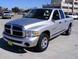 2005 Bright Silver Metallic Dodge Ram 1500 ST Quad Cab #2516968