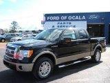 2010 Tuxedo Black Ford F150 Lariat SuperCrew #25195981
