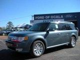 2010 Steel Blue Metallic Ford Flex SEL #25195999