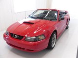2002 Torch Red Ford Mustang GT Convertible #25196351