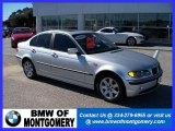 2004 Titanium Silver Metallic BMW 3 Series 325i Sedan #25247666