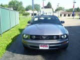 2007 Windveil Blue Metallic Ford Mustang V6 Premium Convertible #25247369