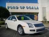 2008 White Suede Ford Fusion SE #2513062