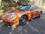 2007 Porsche 911 Nordic Gold Metallic