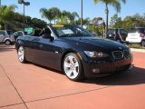 2008 Monaco Blue Metallic BMW 3 Series 335i Convertible #25247480