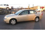 2005 Light Driftwood Metallic Chevrolet Malibu LS V6 Sedan #25247828
