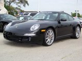 2008 Black Porsche 911 Carrera Coupe #99347