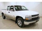 2002 Summit White Chevrolet Silverado 1500 LS Extended Cab 4x4 #25247886