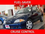 2002 Indigo Blue Metallic Chevrolet Cavalier LS Coupe #25247569