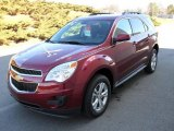 2010 Cardinal Red Metallic Chevrolet Equinox LT #25247917