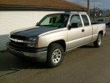 2005 Silver Birch Metallic Chevrolet Silverado 1500 Extended Cab 4x4 #25247612