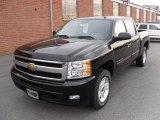 2010 Black Chevrolet Silverado 1500 LTZ Crew Cab 4x4 #25247933