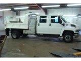 2004 Summit White Chevrolet C Series Kodiak C4500 Crew Cab Utility Dump Truck #25247955