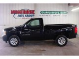 2008 Black Chevrolet Silverado 1500 Work Truck Regular Cab #25247958