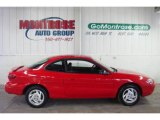2001 Bright Red Ford Escort ZX2 Coupe #25247971