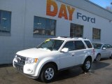 2009 White Suede Ford Escape Limited V6 4WD #25299823