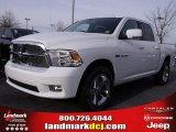 2010 Stone White Dodge Ram 1500 SLT Crew Cab #25299943