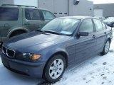 2002 Steel Blue Metallic BMW 3 Series 325i Sedan #25299741